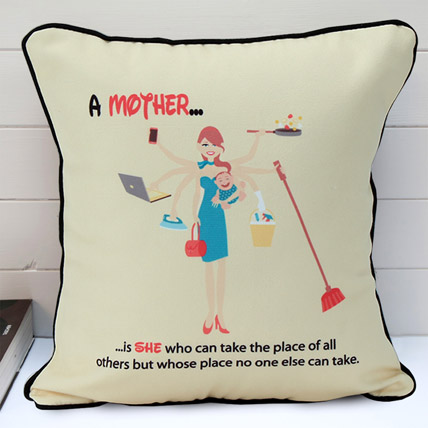 Multi Tasking Mum Cushion
