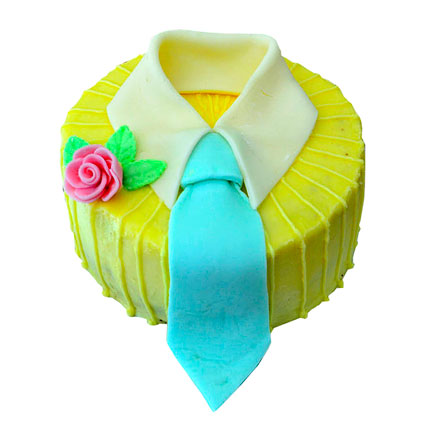 Neck Tie decorated Cake 4kg Eggless