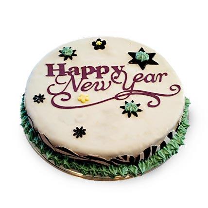 New Year Fondant Cake 3kg