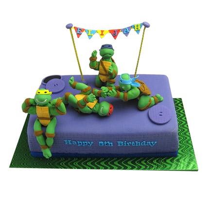 Ninja Turtle Cake 3kg Eggless