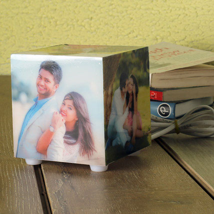 Personalized Memories Lamp