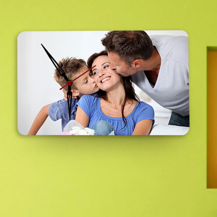 Personalized Rectangular Wall Clock
