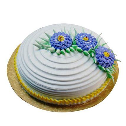Pineapple Swirl Cake 1kg Eggless