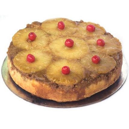 Pineapple Upside Down Cake 1kg Eggless
