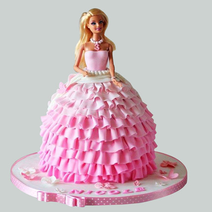 Baby Doll Birthday Cake