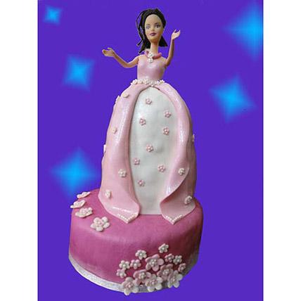 Princess Cake 2kg Eggless