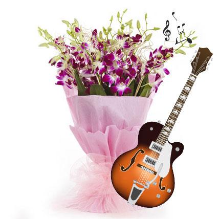 Purple Orchid Melodies