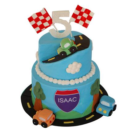 Race Car Birthday Cake 4kg Eggless