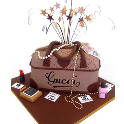 Rich Gucci handbag Cake 2kg