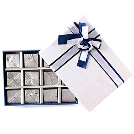 Royal Blue Chocolate Box