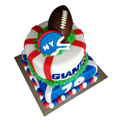 Rugby Cake 5kg