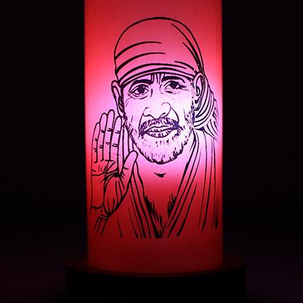 Sai Baba Divine Lamp