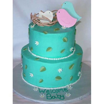 Say Hi To The Baby Cake 4kg Eggless
