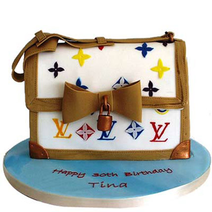 Sexy LV Bag Cake by FNP