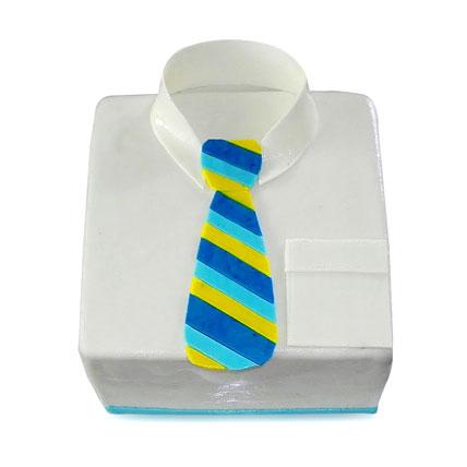 Shirt Tie Designer Cake For Dad 2kg