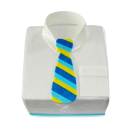 Shirt Tie Designer Cake For Dad 3kg