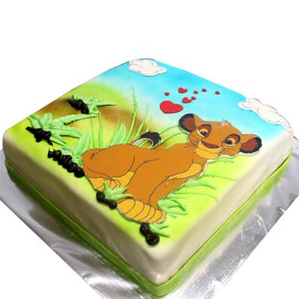 Simba Picture Cake 3kg Eggless