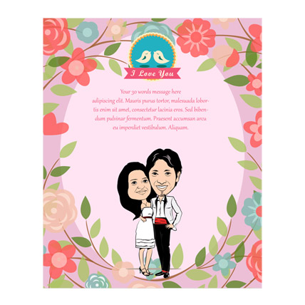 Simply Special Caricature Card