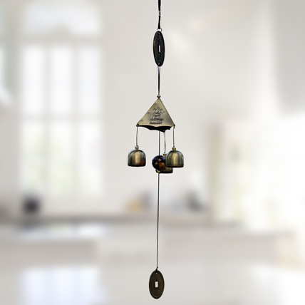 Single Coin Wind Chime