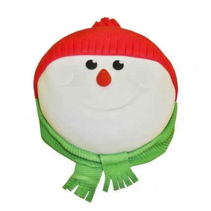 Snowman Cake 4kg Eggless