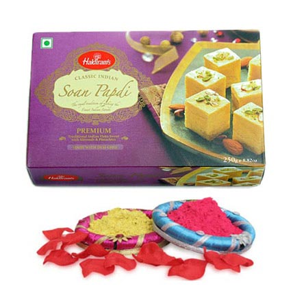 Soan Papdi with Colours