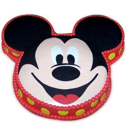 Soft Mickey Face Cake 3kg