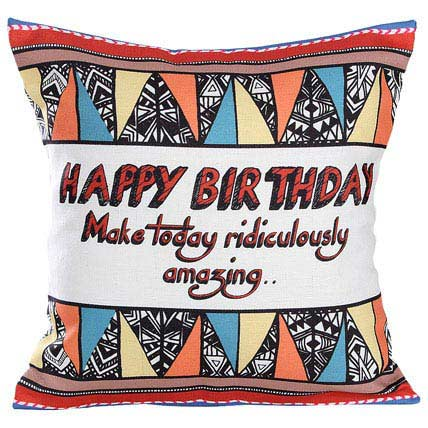 Special Birthday Cushion