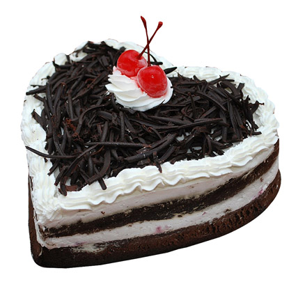 Special Black Forest Cake 1kg Eggless