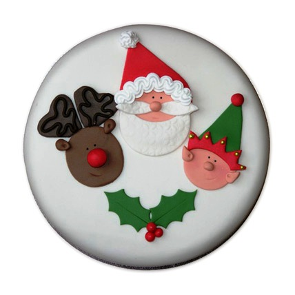 Special Delicious Merry Christmas Cake 3kg