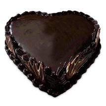 Special Heart Shape Truffle Cake 2kg Eggless