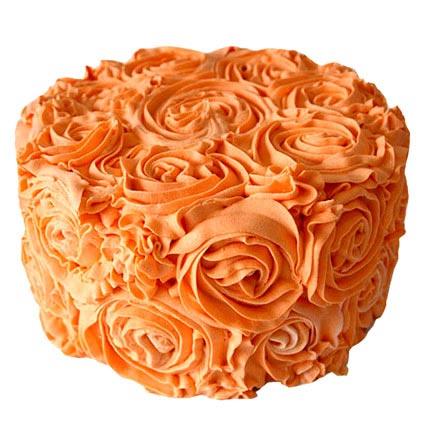 Special Orange Cake Half kg Eggless