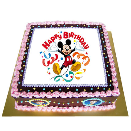 Special Photo Cake 4kg Eggless