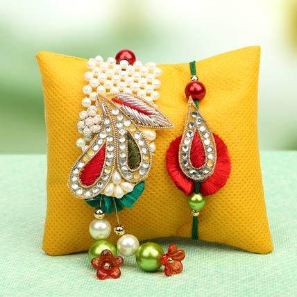 Splendid Lumba Rakhi Set