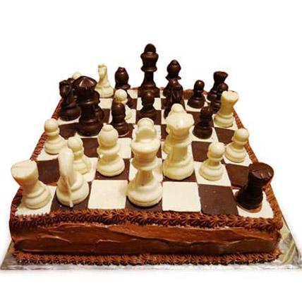 Standard Chess Cake 3kg Eggless