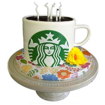 Starbucks Coffee Cake 5kg Eggless