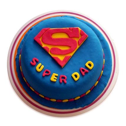Super Dad Designer Cake 1kg