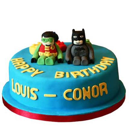 Sweet Baby Robin Batman Cake 4kg