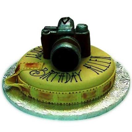 Sweet Camera Cake 2kg Eggless