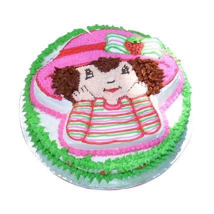 Sweet Little Girl Cake 2kg Eggless