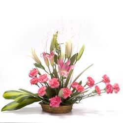 Sweet Pink Basket
