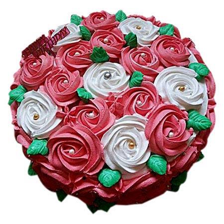 Swirl Roses Cake 2kg