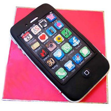 Techy iPhone Cake 4kg Eggless