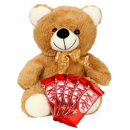 Teddy and Chocolate Love