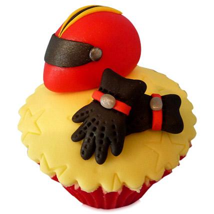 The Biker Dad Cupcakes 24 Eggless