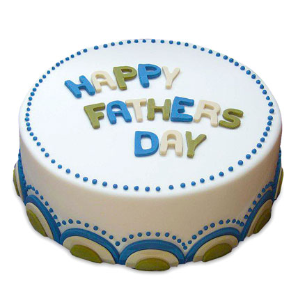 The Delicious DAD Cake Half kg Eggless