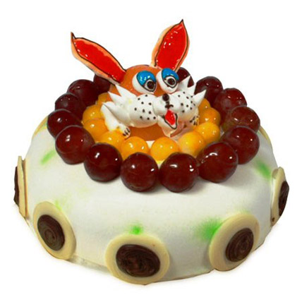 The Delicious Rabbit Cake 2kg Eggless