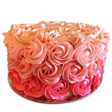 Three Row Rose Cake 3kg