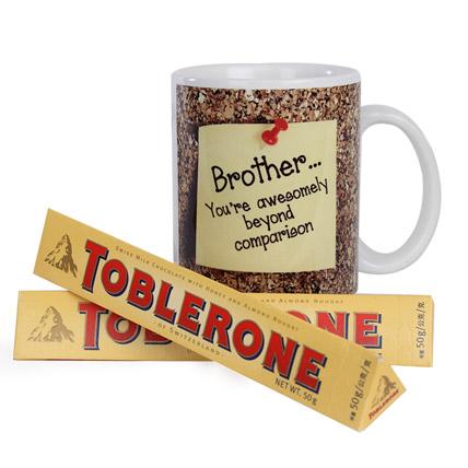 Toblerone and Mug Combo
