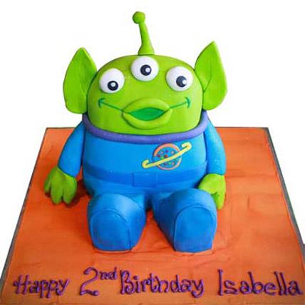 Toy Story Alien Cake 4kg Eggless
