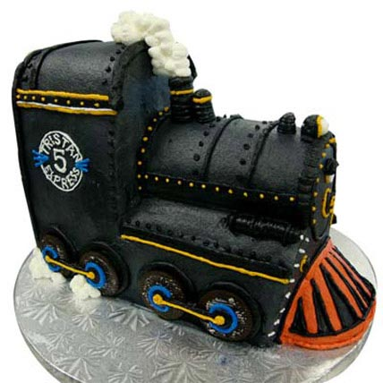 Train Engine Cake 3kg Eggless